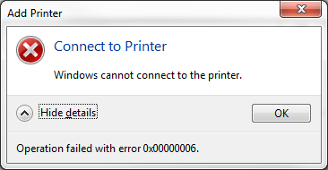 Ошибка 0x00000006 INVALID_PROCESS_DETACH_ATTEMPT