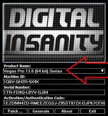 Установка sony vegas pro 13 + ключ активации
