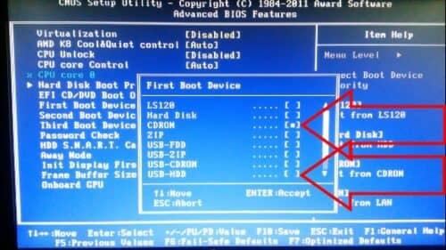 Как установить Windows 7 Шаг за шагом